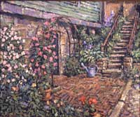 CAT# 2031  Rose Arbor  oil 20 x 24  Leif Nilsson spring 1999 ©  Price