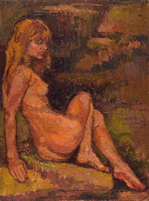 Nude - (grotto girl)