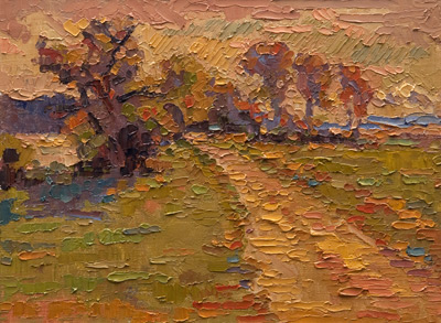 Pettipaug - Autumn  oil	9 x 12